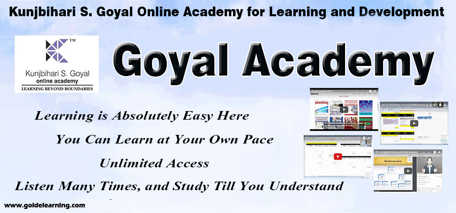 Now access the Virtual Classroom of Goyal Academy on mobile app